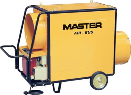 Cañon de aire caliente por combustion de gasóleo Master vb-310 fs
