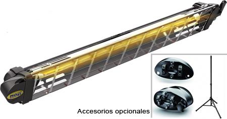 Calefactores electricos de onda corta por infrarrojos coffee