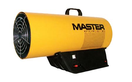 Cañon de airre caliente por combustion de gas Master