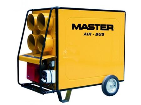 Cañon de aire caliente por combustion de gasoleo Master