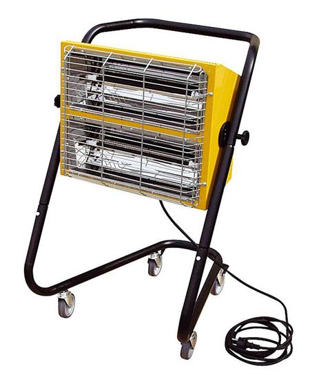 Generador de calor por radiacion hall-3000 master
