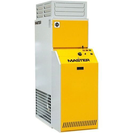 Climatizador de aire caliente por combustion de gasoleo Master