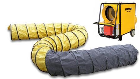 Conducto para el calor apto para el calefactor master Bv310 y b18