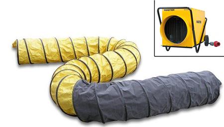 Conducto para el calor apto para el calefactor master B 18epr