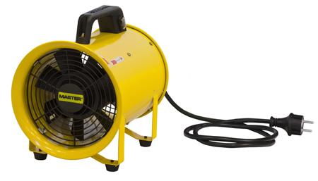 Extractor- Ventilador de metal