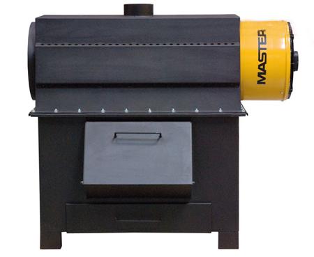Generador de aire caliente por combustibles solidos Master