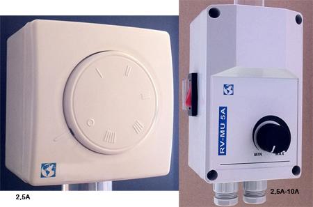 Interruptor- Regulador de velocidad para ventiladores de techo