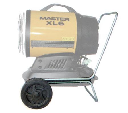 kit de ruedas para transporte de calentadores a gasoleo XL6 de Master