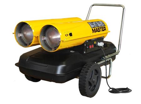 Ca�on calentador de gasoil MASTER b-300-ced