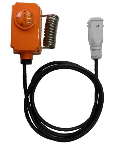 kit termostato ambiente con instalacion incluido y conectores master