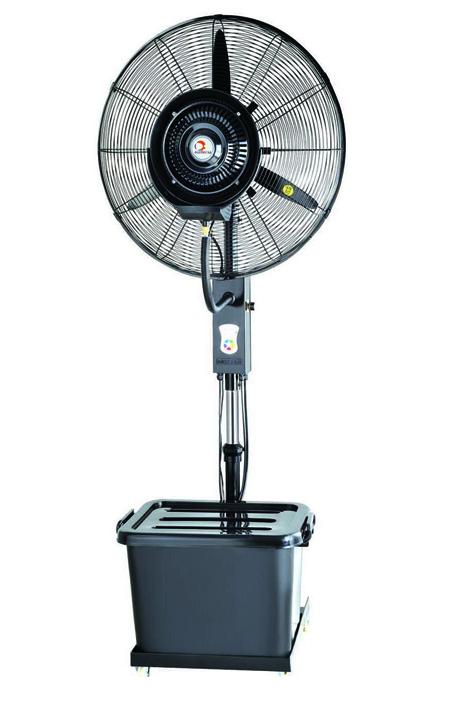 ventilador con nebulizador de agua hw-26mc05-rc