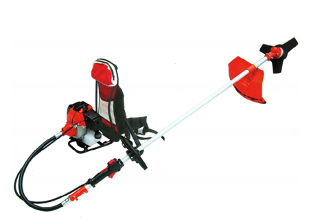 Desbrozadora bk430 a gasolina con motor omega y con mochila