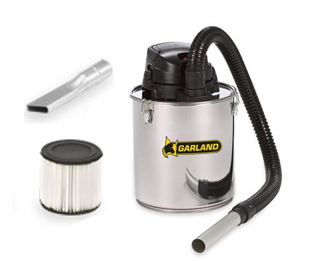 Aspirador metálico para cenizas y brasas garland ash 120 e-v16
