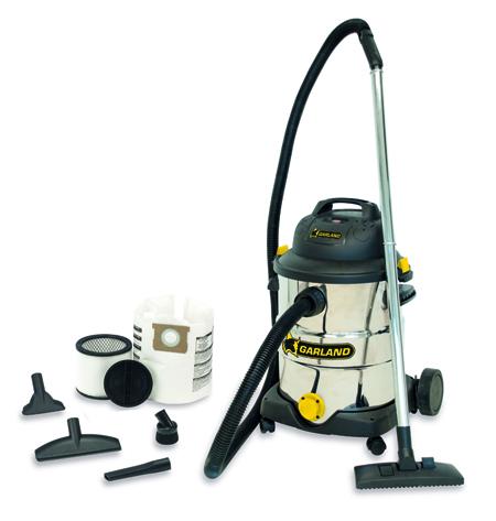 Aspirador de agua y polvo trabajos intensivos Garland clean 640 ex-v16