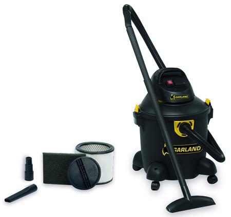 Aspirador de agua y polvo trabajos intensivos Garland clean 330 es-v16