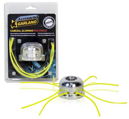 Cabezal de hilos para desbrozadoras 8 hilos universal para todos los modelos.