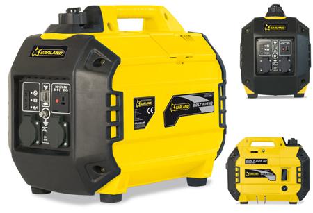 Generadores ligeros inverter de 2000 W garland bolt 825 iq