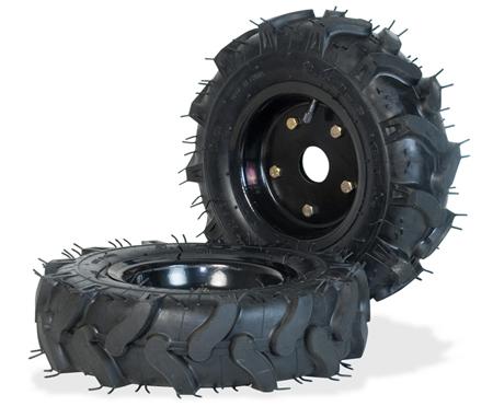 ruedas de transporte Garland para desbrozadoras con eje hexagonal 7109000012