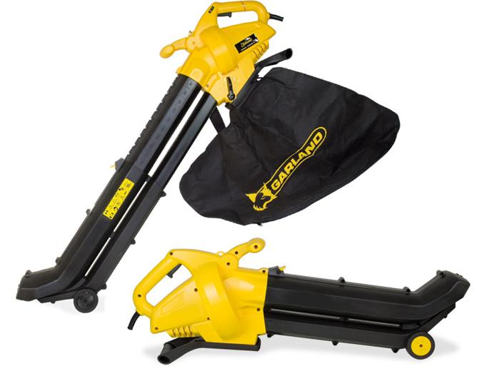 Soplador aspirador y triturador de jardin Garland Gas 259 E-V15