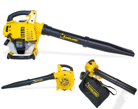 Soplador aspirador y triturador de hojas a gasolina de garland Gas 650 QG