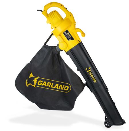comprar sopladores de hojas para jardin y terrazas electrico super barato con la calidad de Garland GAS 139 e-v16
