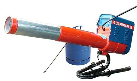 Espantapajaros gepaval a propano o butano guardian2-standard