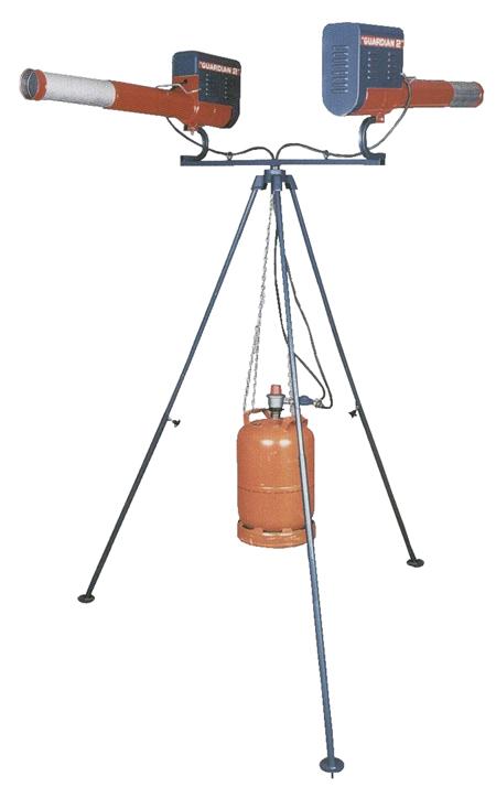 Ahuyentador automatico de animales guardian-2 rotativo doble gepaval