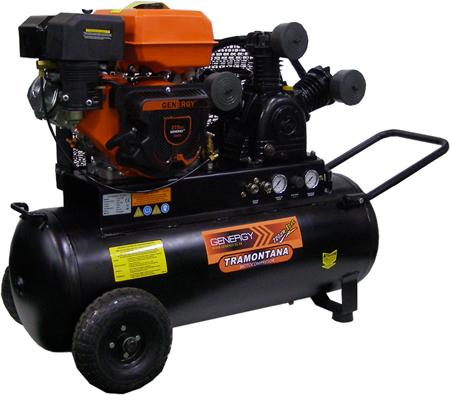Motocompresor de aire a gasolina