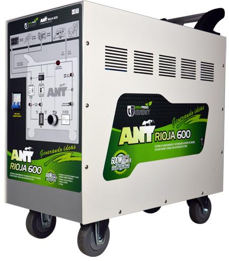 estación de energía ant con batería