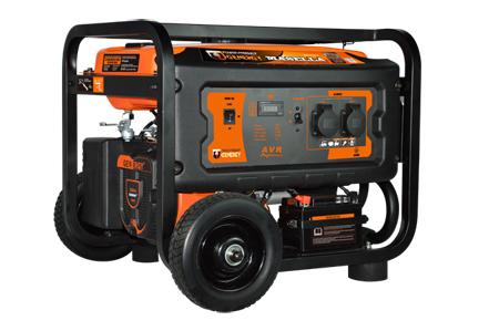 Generador a gasolina de genergy gama profesional Robusta