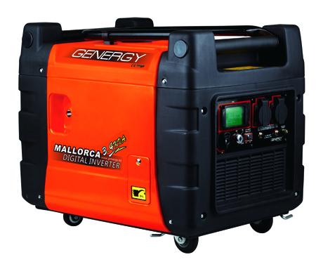 Generador de energia digital inverter de Genergy modelo Mallorca