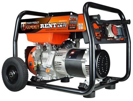 Generador trifasico Genergy España modelo Rent AM7T