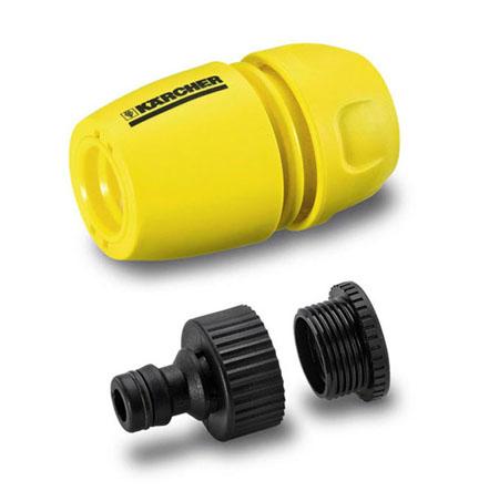 conector con adaptador y reductor karcher