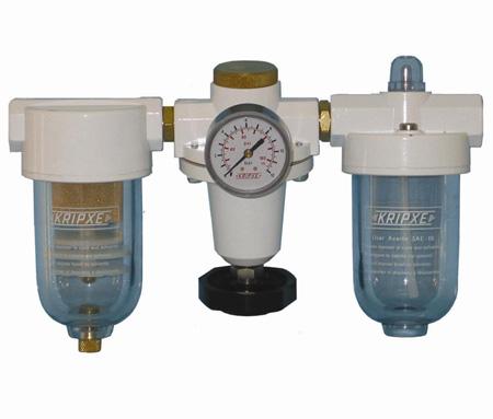 Regulador, Filtro y lubricador RLF-1/2  Kripxe