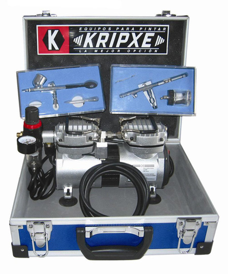 kit aerografo profesional Kripxe