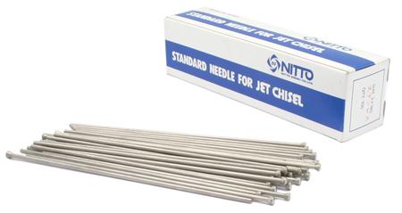 agujas de acero inoxidable de repuesto para martilletes de aguja neumaticos