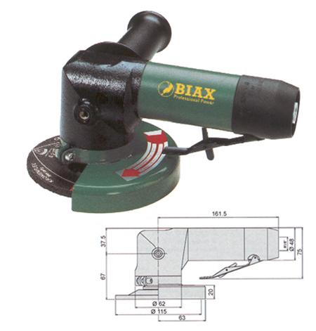 Amoladora angular Biax neumatica wrh14-13/2
