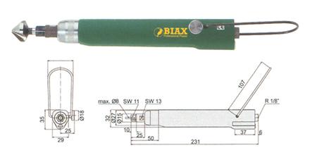 Avellanadora neumatica be805 biax
