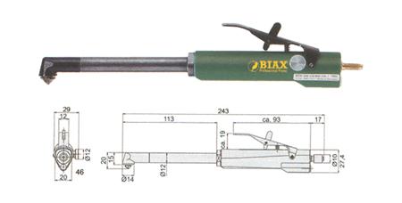 Avellanadora neumatica profesional biax bew309
