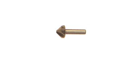 Broca de avellanado para trabajos profesionales de biax bi-001950295 y bi-001950296