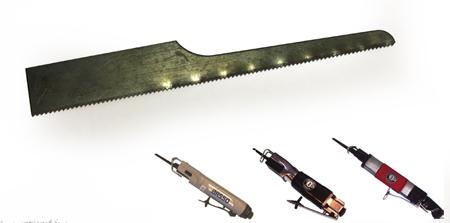 Hojas de sierra de repuesto para sierras neumaticas corta chapas ac-hsc24