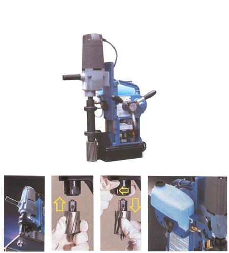 Taladro con base electromagnetica profesional nitto nmt-wa5000
