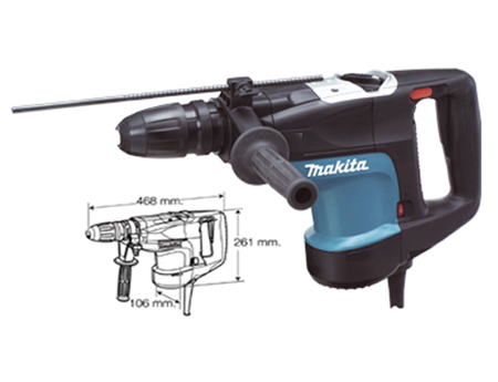 Martillo combinado makita HR4001C.