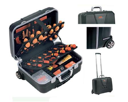 maleta con ruedas plano