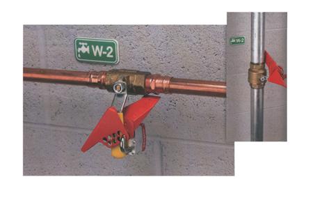 Bloqueo de valvulas de bola s3476 / s3477 master lock