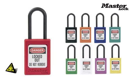 Candados seguridad para cajas electricas y alta seguridad de la marca masterlock modelo s32