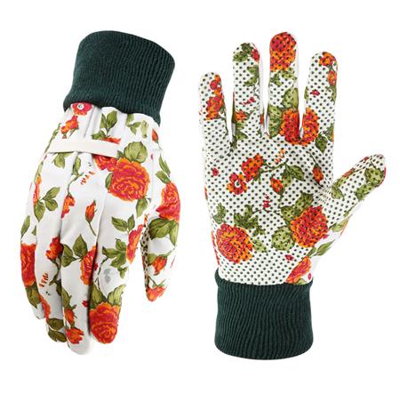 Prácticos guantes de jardinería para señora