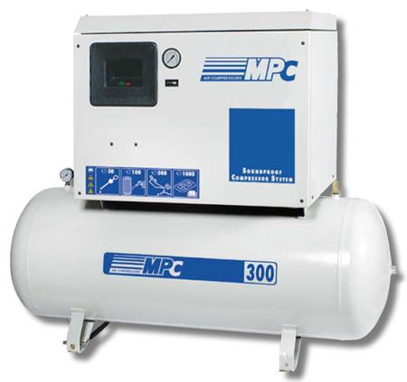 Equipo comrpesor electrico sil con calderin mpc