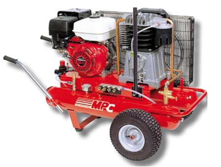 Equipo compresor a motor gasolina automat 85 mpc