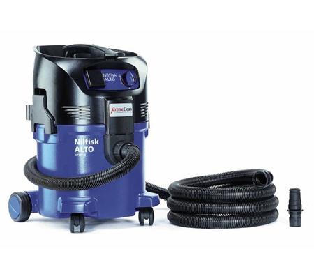 Aspirador nilfisk industrial de agua y polvo attix 30-21 xc